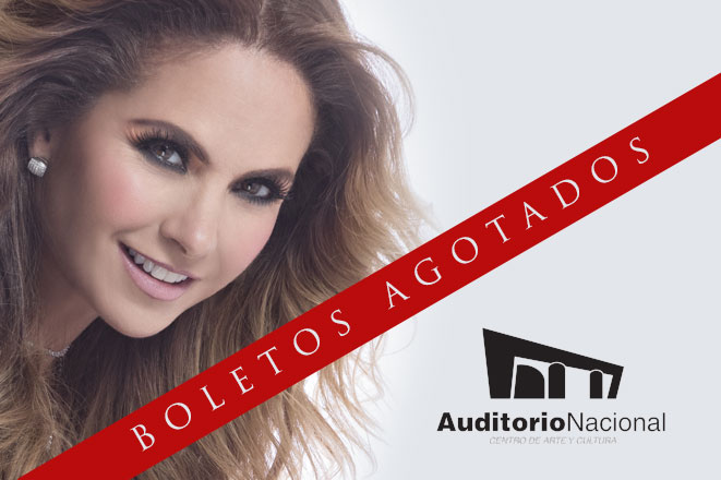 Lucero logra Sold Out en el Auditorio Nacional